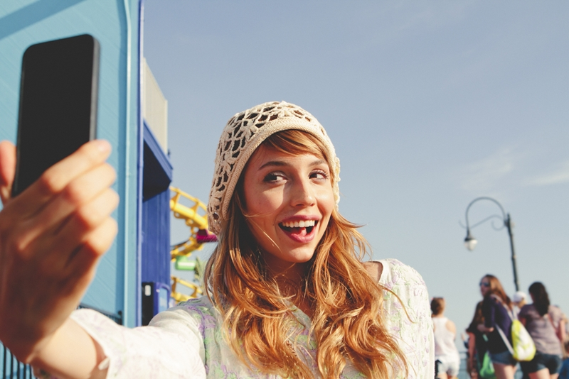 Selfies have gained importance within the mobile security community.